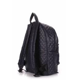 Стеганый рюкзак Poolparty на синтепоне Theone Darkblue