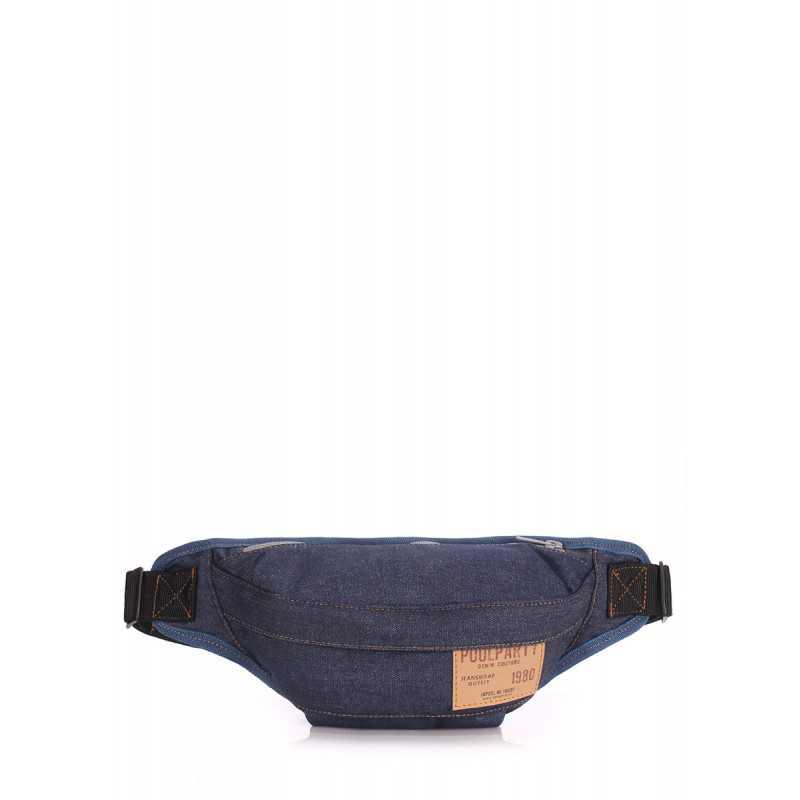 Сумка на пояс POOLPARTY Bumbag  Jeans