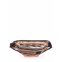 Сумка на пояс POOLPARTY Bumbag Velvet Brown