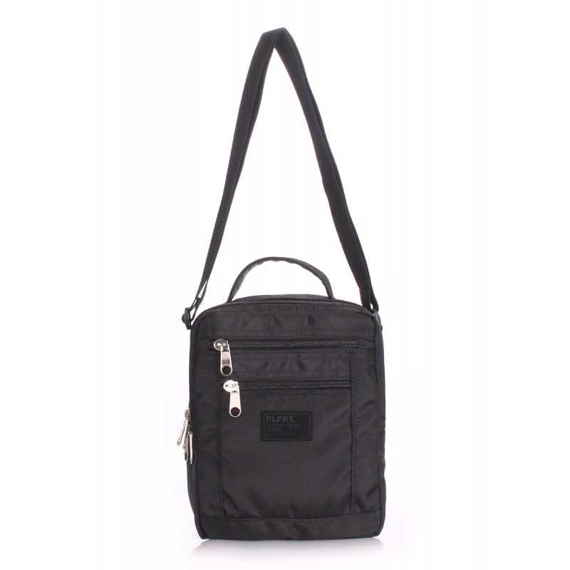 Мужская сумка на плечо POOLPARTY Siteimage Crossbody Black