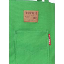 Коттоновая сумка POOLPARTY Arizona Green
