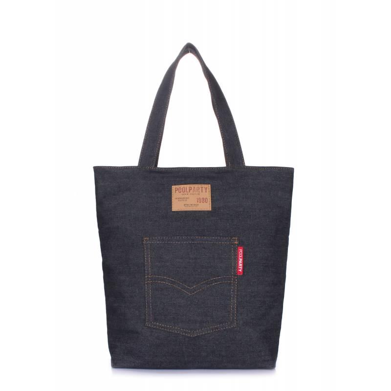 Коттоновая сумка POOLPARTY Arizona Jeans