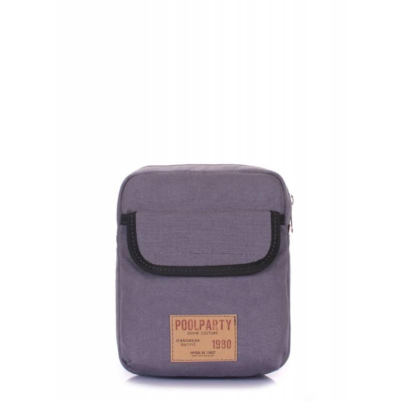 Мужская сумка через плечо Extreme Grey