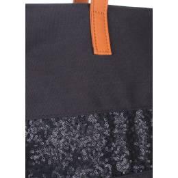 Тканевая сумка POOLPARTY Sparkle Black