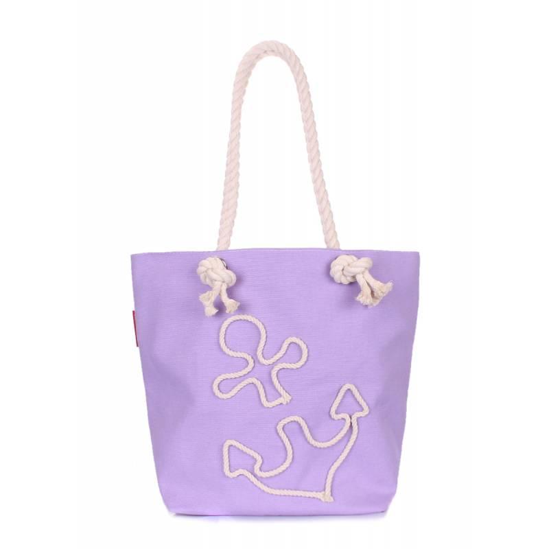 Тканевая сумка Anchor Lilac-None