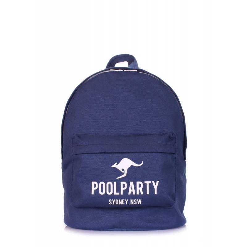 Молодежный рюкзак Poolparty Kangaroo Darkblue