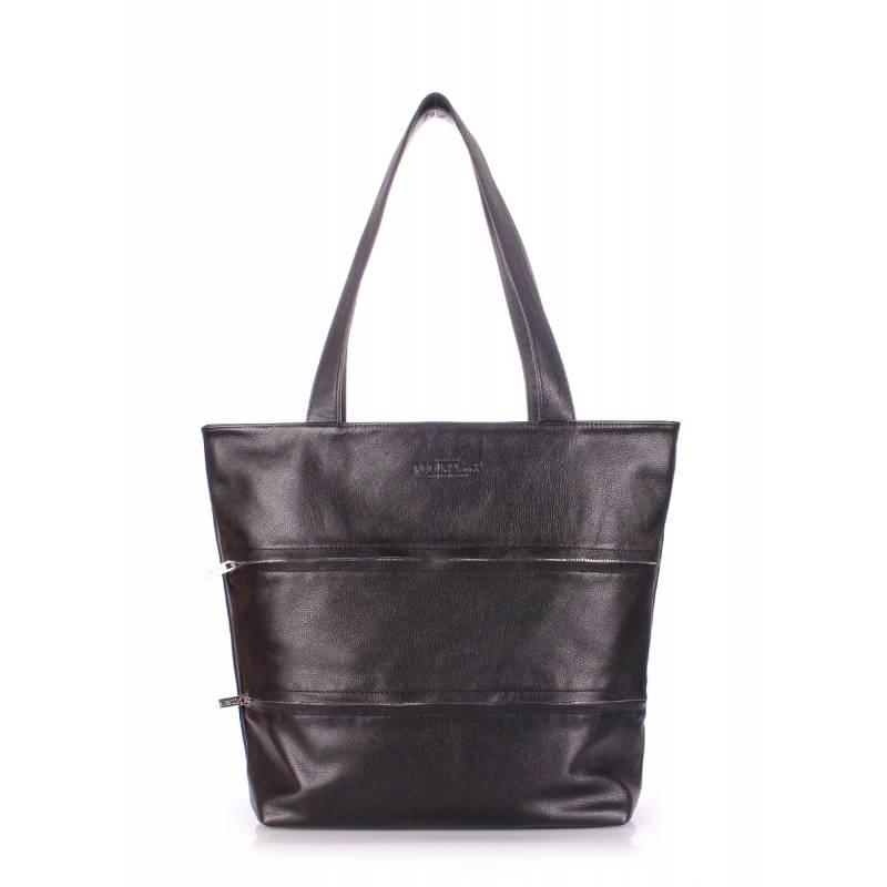 Кожаная сумка Choice Black