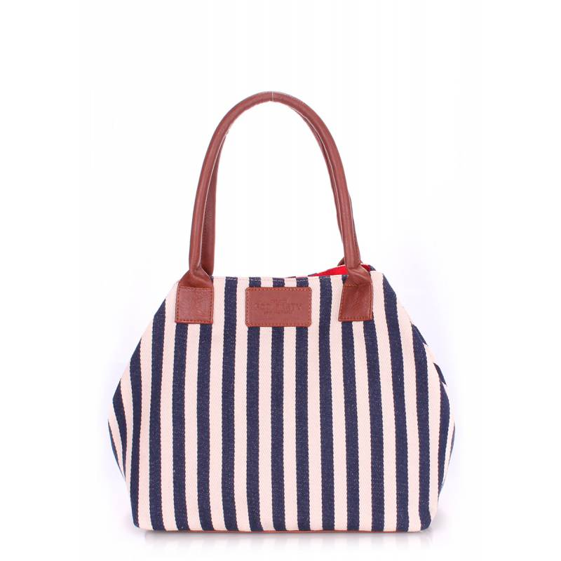 Коттоновая сумка POOLPARTY Navy Blue