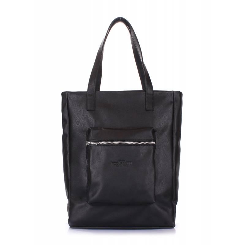 Женская кожаная сумка Spirit Black