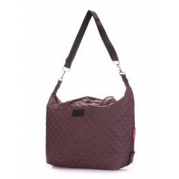 Стеганая сумка POOLPARTY Tokyo Brown