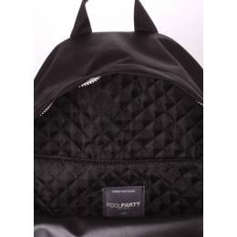Рюкзак молодежный POOLPARTY Eco Backpack Black
