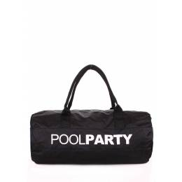 Спортивно-повседневная сумка POOLPARTY Gymbag Oxford Black