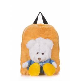 Детский рюкзак POOLPARTY с медведем Kiddy Backpack