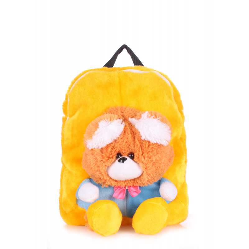 Детский рюкзак POOLPARTY с медведем Kiddy Backpack Bear Sunny