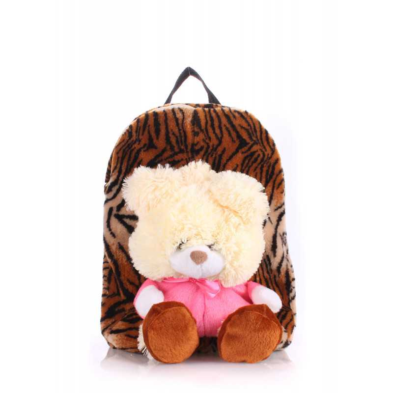 Детский рюкзак POOLPARTY с медведем Kiddy Backpack Tiger