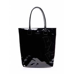 Лаковая женская сумка Pool86 Black