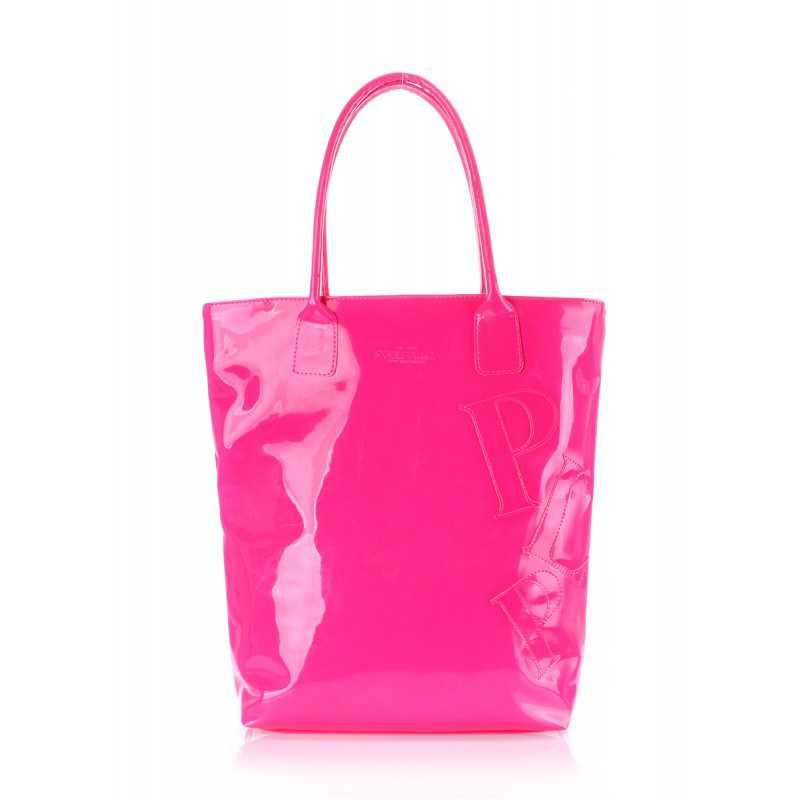 Лаковая женская сумка Pool86 Pink