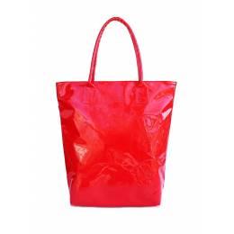 Лаковая женская сумка Pool86 Red