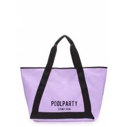 Коттоновая сумка POOLPARTY Laguna Lilac