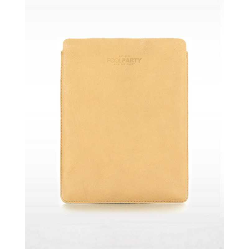 Кожаный чехол для iPad POOLPARTY iPadcover Beige