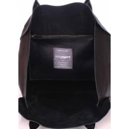 Кожаная сумка POOLPARTY  Legend Black
