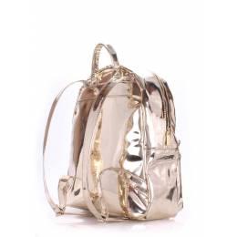 Рюкзак женский POOLPARTY Mini Bckpck Gold