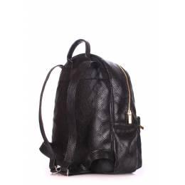 Рюкзак женский POOLPARTY Mini Bckpck Snake Black
