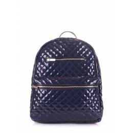 Рюкзак женский POOLPARTY Mini Bckpck Stitch Darkblue