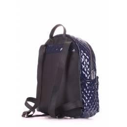 Рюкзак женский POOLPARTY Mini Bckpck Stitch Darkblue