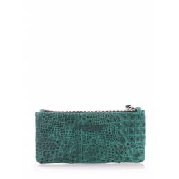 Кошелек POOLPARTY Moneykeeper Croco Green