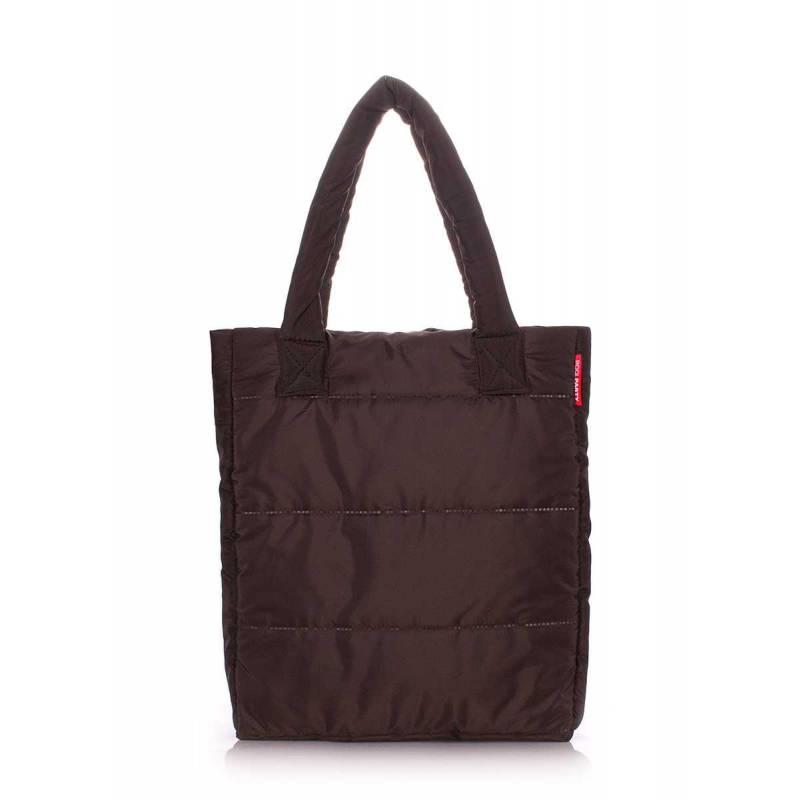 Дутая сумка POOLPARTY ns3 Brown