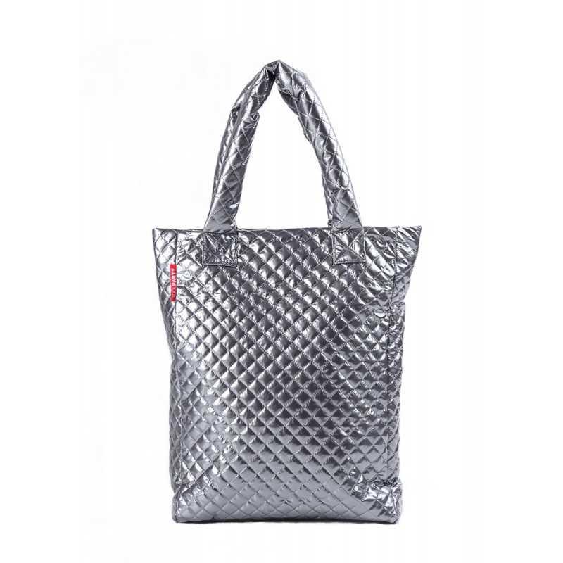 Стеганая сумка NS3 Silver