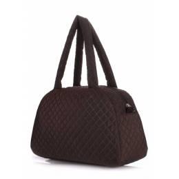 Стеганая сумка-саквояж NS4 ECO Brown