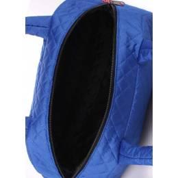 Стеганая сумка-саквояж NS4 ECO Brightblue