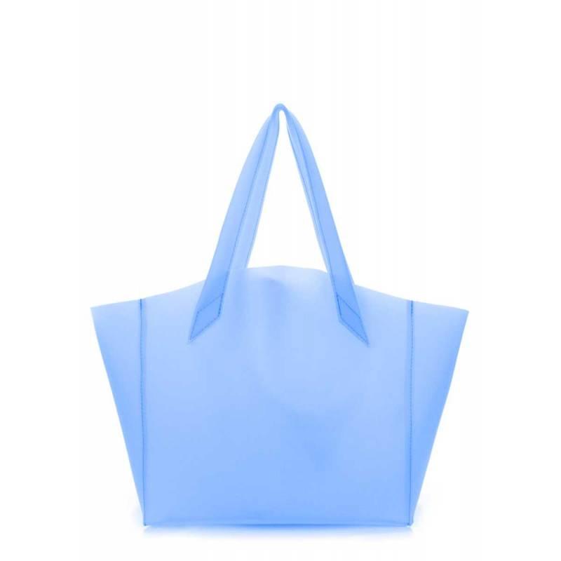 Силиконовая сумка POOLPARTY Fiore Gossip Blue