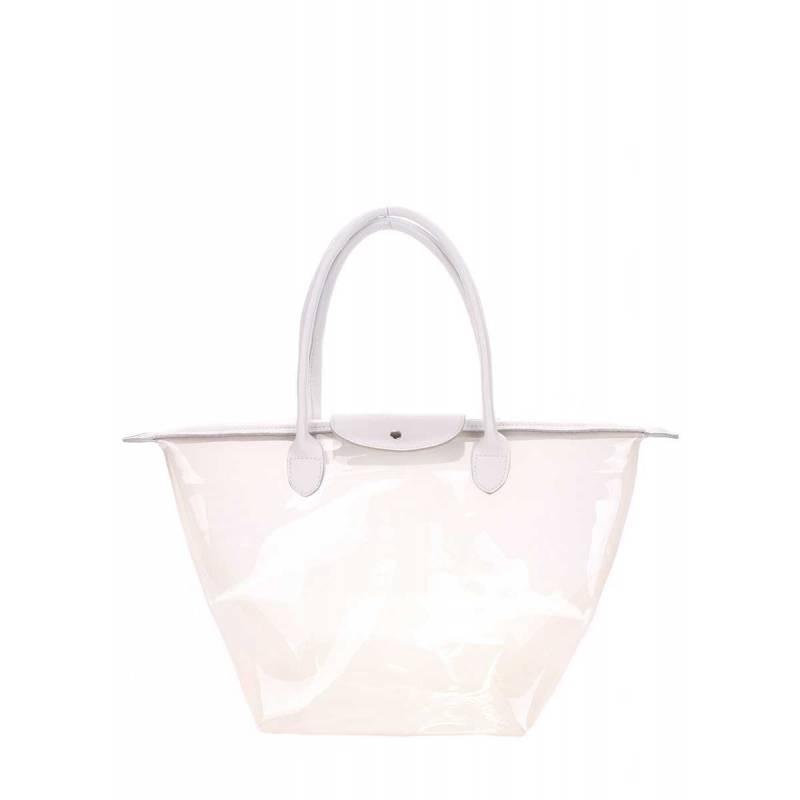 Прозрачная сумки Pool80 KELLY White
