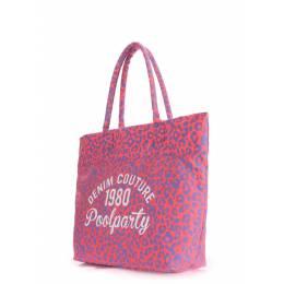 Коттоновая сумка POOLPARTY Paradise Leo
