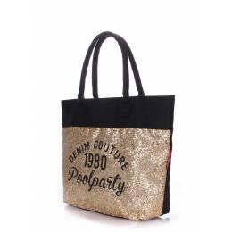 Коттоновая сумка POOLPARTY Paradise Shine