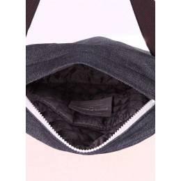 Мужская джинсовая сумка POOLPARTY  pool 94 Black Blue Jeans