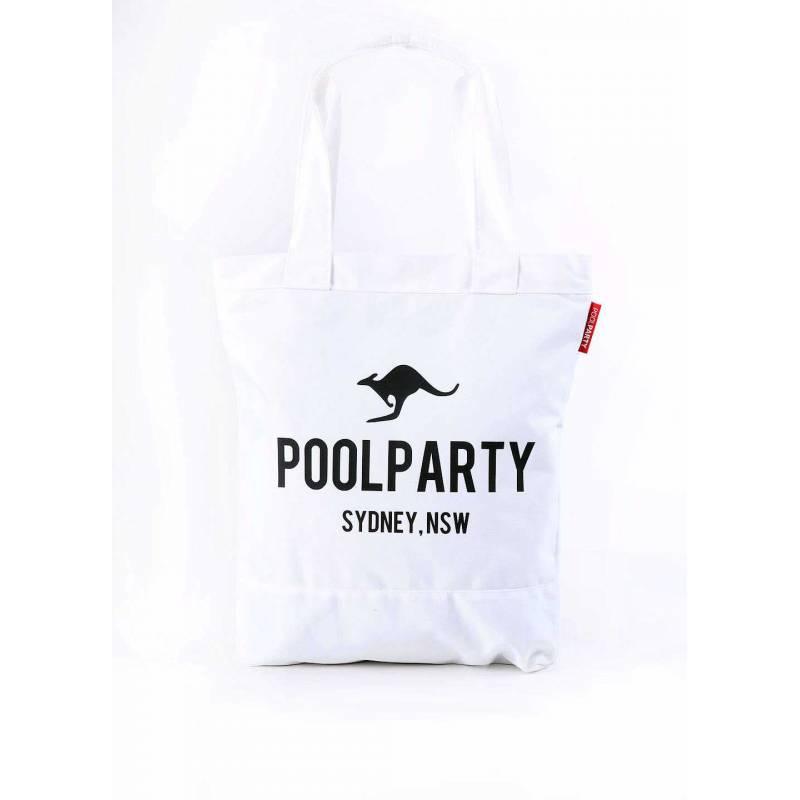 Коттоновая сумка Pool 1 White