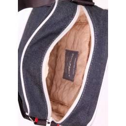 Мужская джинсовая сумка POOLPARTY Pool 18 Jeans