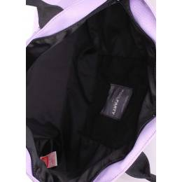 Коттоновая сумка POOLPARTY Pool 9 Lilac