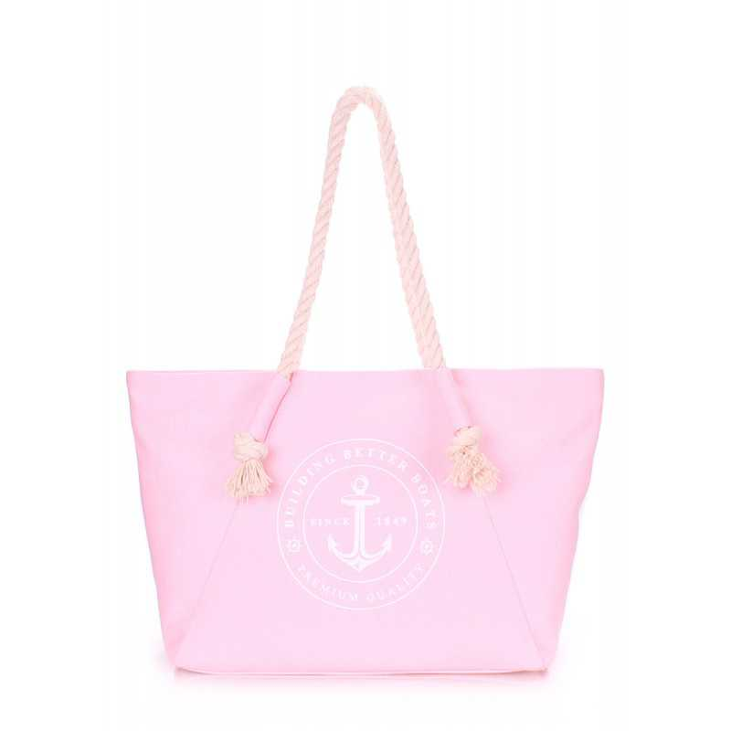 Коттоновая сумка POOLPARTY с принтом Breeze Rose