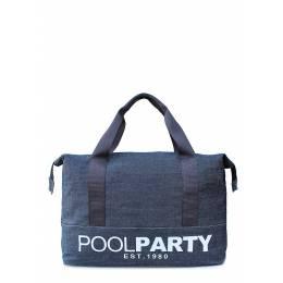 Джинсовая сумка POOLPARTY Pool 12 Jeans
