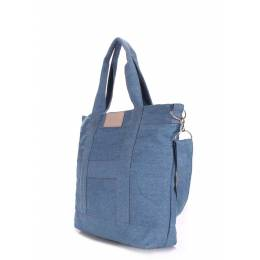 Джинсовая сумка POOLPARTY Pool 6 Jeans Light