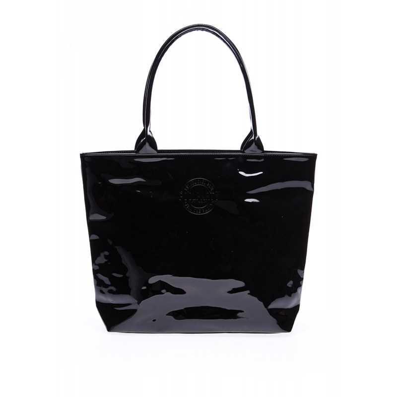 Лаковая сумка Pool7 laque Black