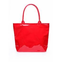 Лаковая сумка POOLPARTY Pool7 Laque Red