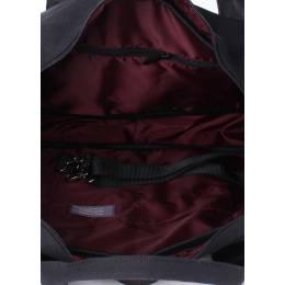 Коттоновая сумка POOLPARTY College Black