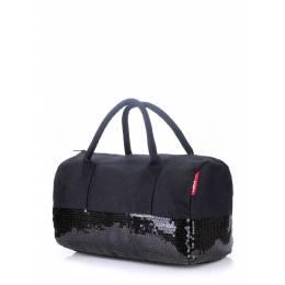Коттоновая сумка POOLPARTY Rock'n'Roll Black