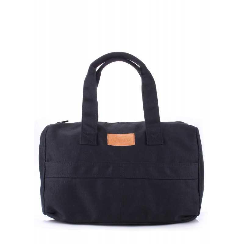 Коттоновая сумка POOLPARTY Sidewalk Black